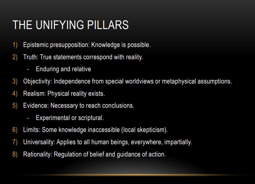 Slide 16: The Unifiying Pillars