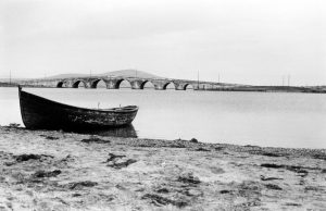 The bridge in Turkey which Bahá'u'lláh and His companions crossed on their way from Istanbul (Constantinople) to Edirne in December 1863. Image souce: Bahá'í Media Bank