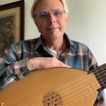 Grant Gustafson with his lute