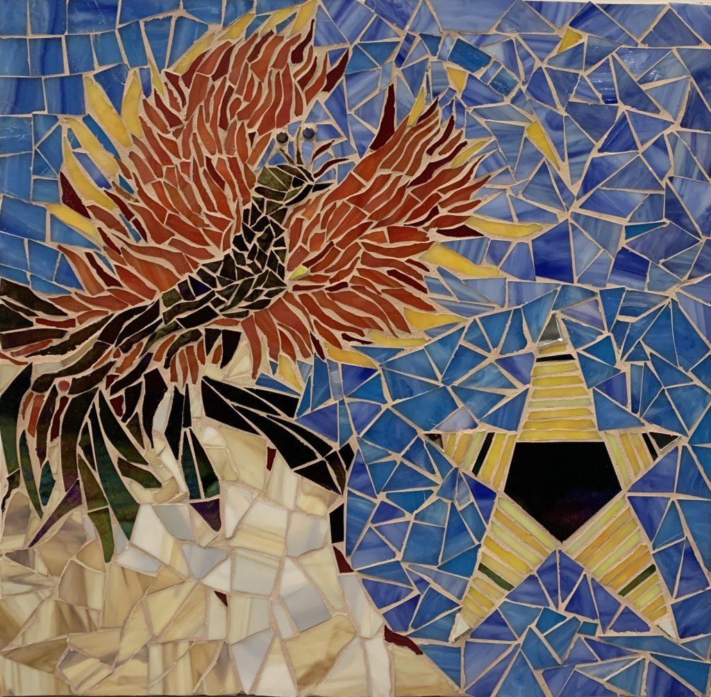 "Mosaic - ""Proclamation of Bahá'u'lláh""- by Mona Rohani"